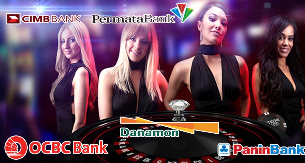 Agen Casino Rekening Bank Cimb Niaga, Panin, Ocbc, Danamon, Permata