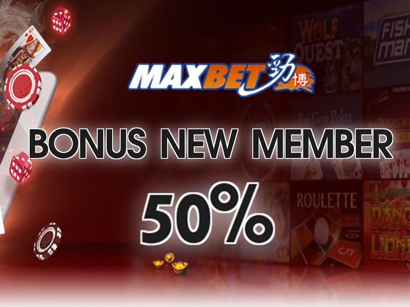 Bonus New Member 20% & CashBack 10%