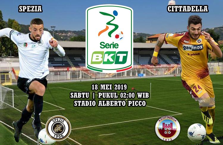 Agen Maxbet Spezia vs Cittadella tgl 18 Mei 2019