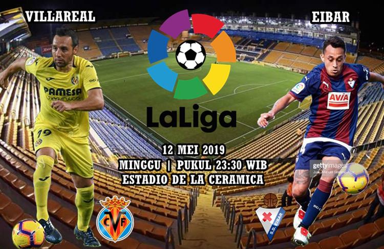 Agen Maxbet Villarreal vs Eibar tgl 12 Mei 2019