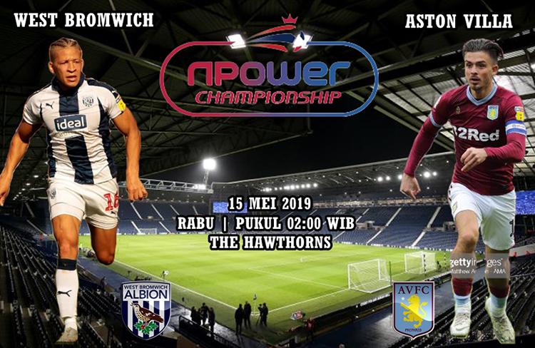 Agen Maxbet West Bromwich vs Aston Villa tgl 15 Mei 2019